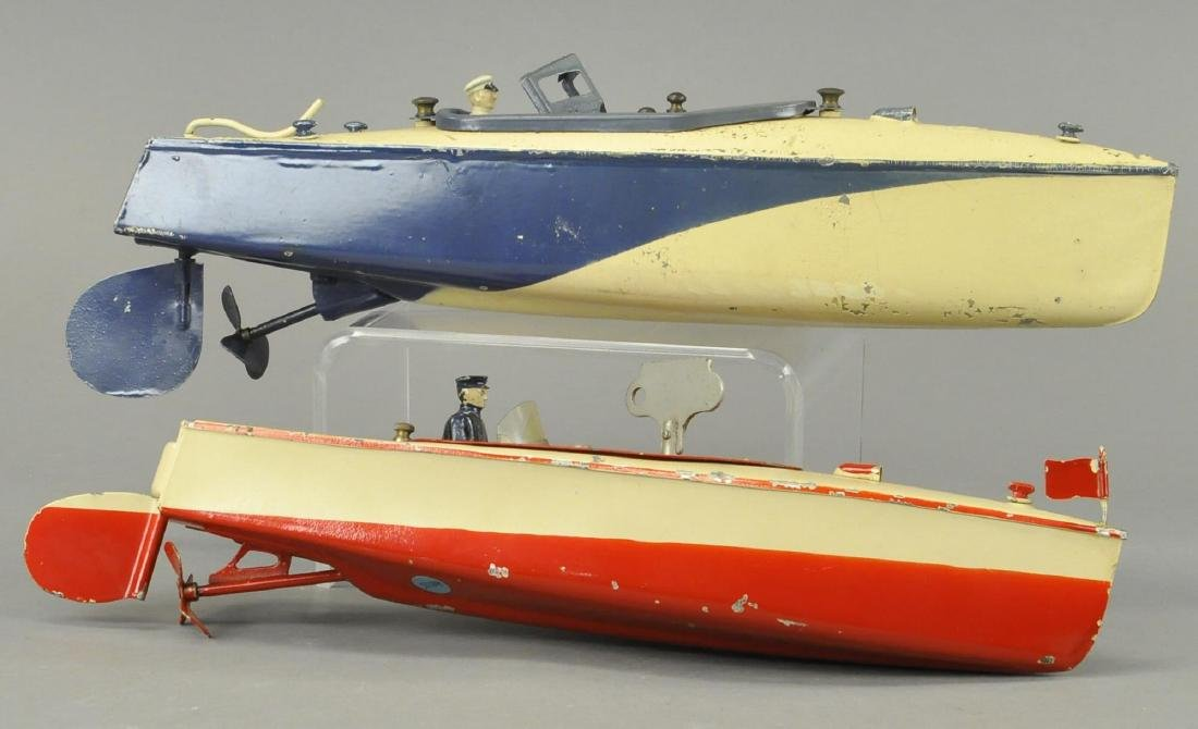 TWO JEP SPEEDBOATS