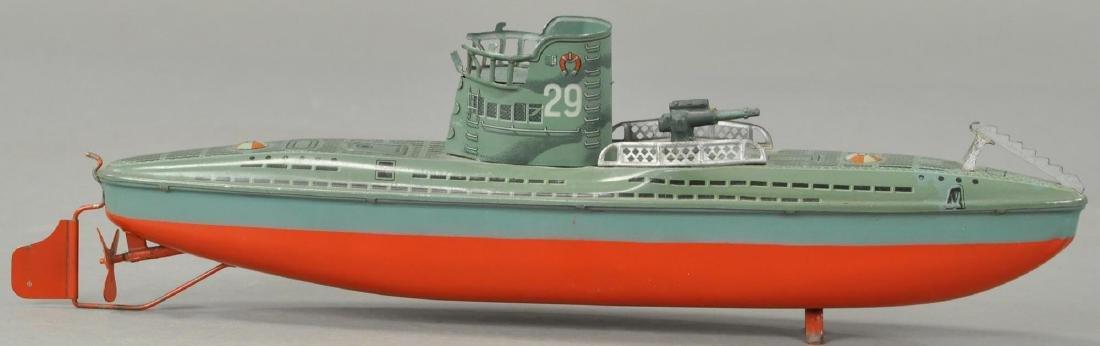 TIPPCO SUBMARINE U-29