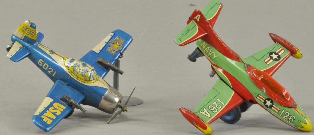 PAIR OF JAPANESE FIGHTER PLANES