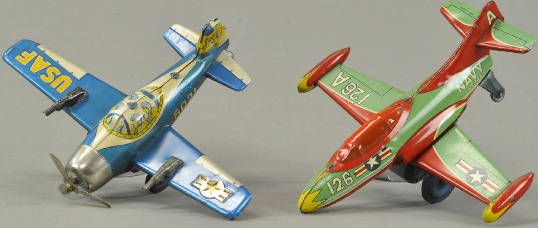 PAIR OF JAPANESE FIGHTER PLANES - 2