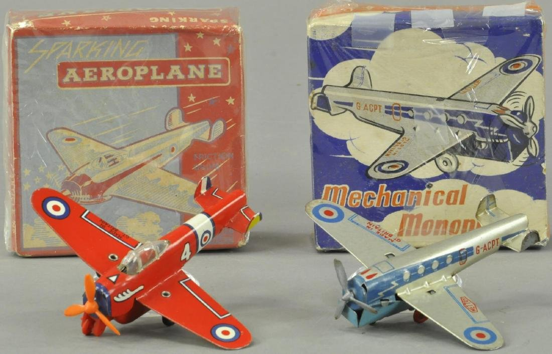 TWO BOXED BRITISH AIRPLANES - METTOY