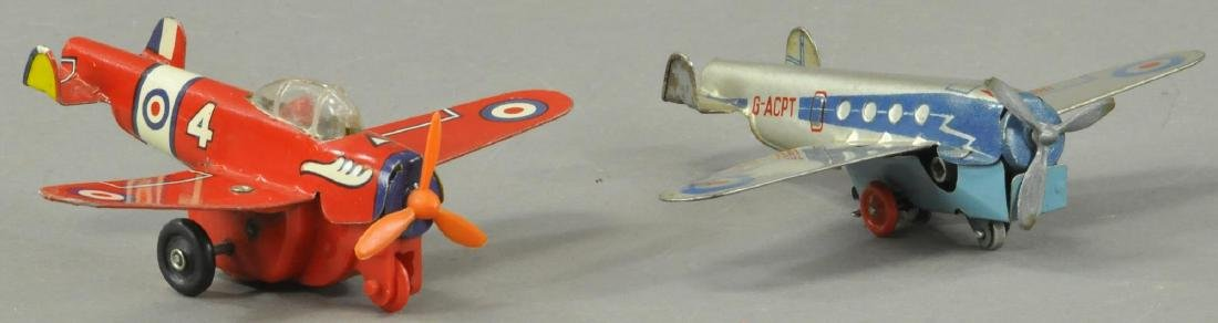 TWO BOXED BRITISH AIRPLANES - METTOY - 2