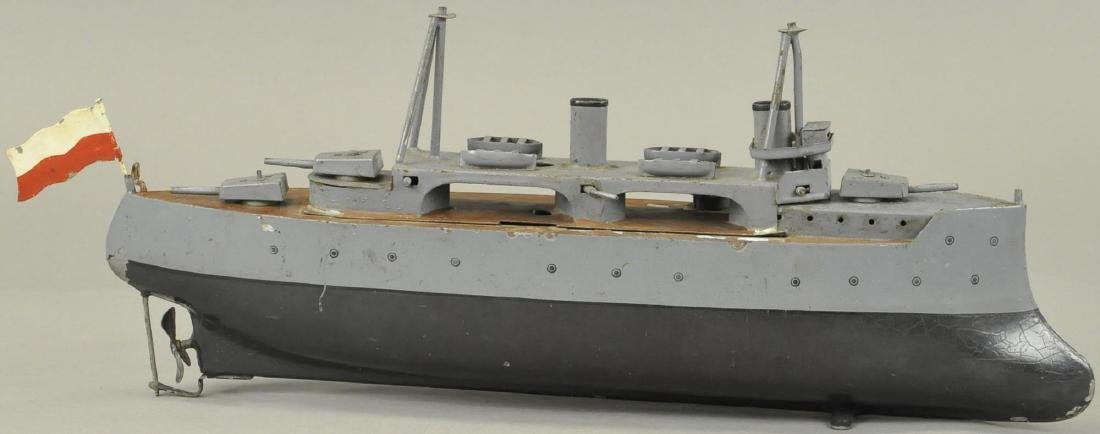 BING ARMORED CRUISER BOAT
