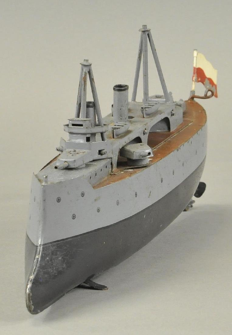 BING ARMORED CRUISER BOAT - 2