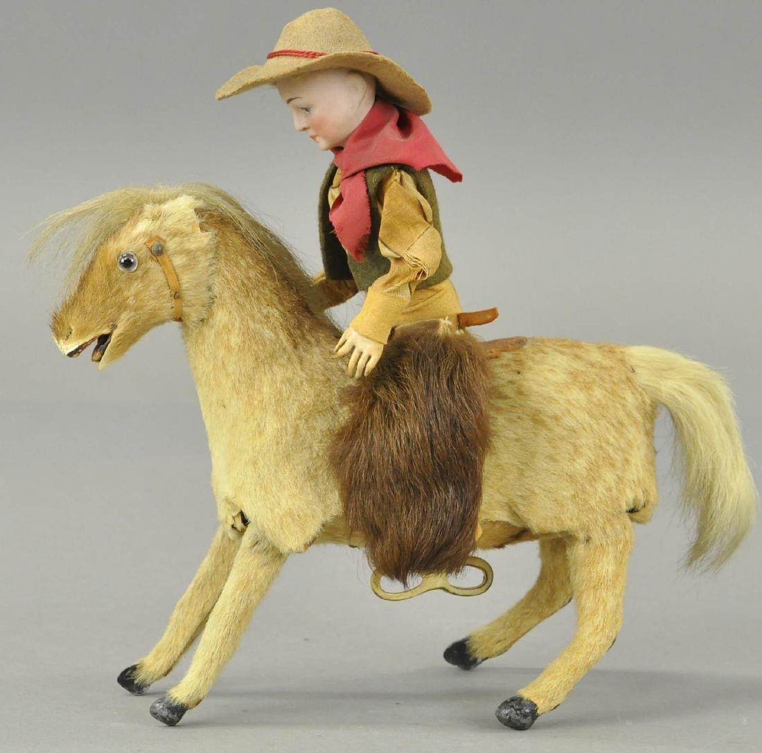 COWBOY ON HORSE AUTOMATON