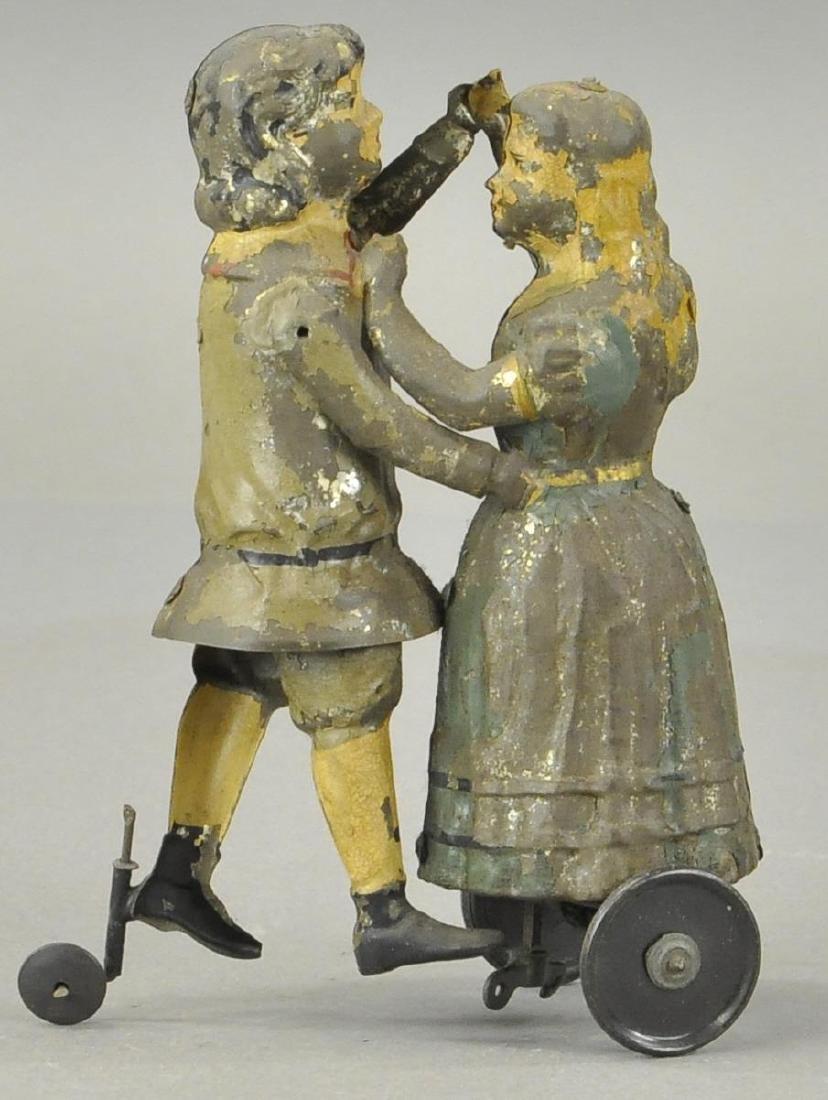 GERMAN TIN CHILDREN DANCING