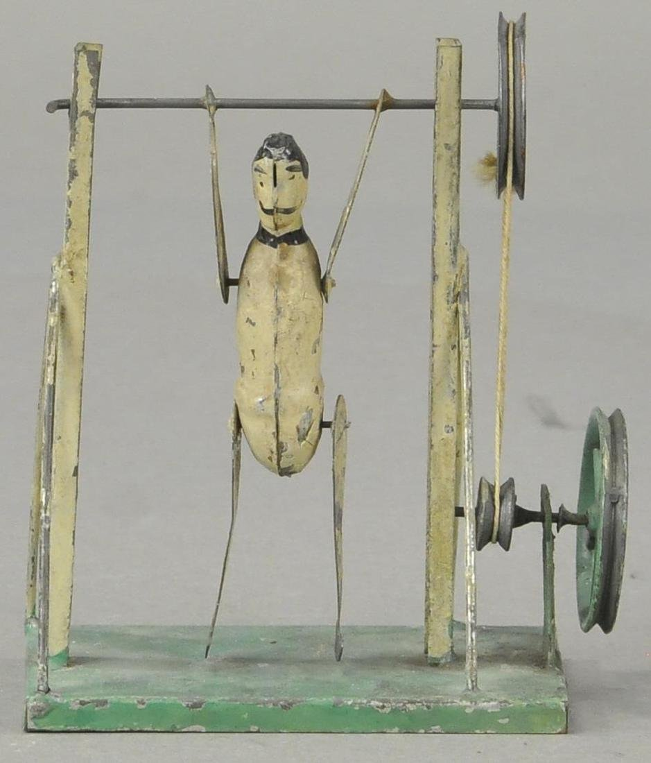 GERMAN TIN ACROBAT - FLYWHEEL/PULLEY