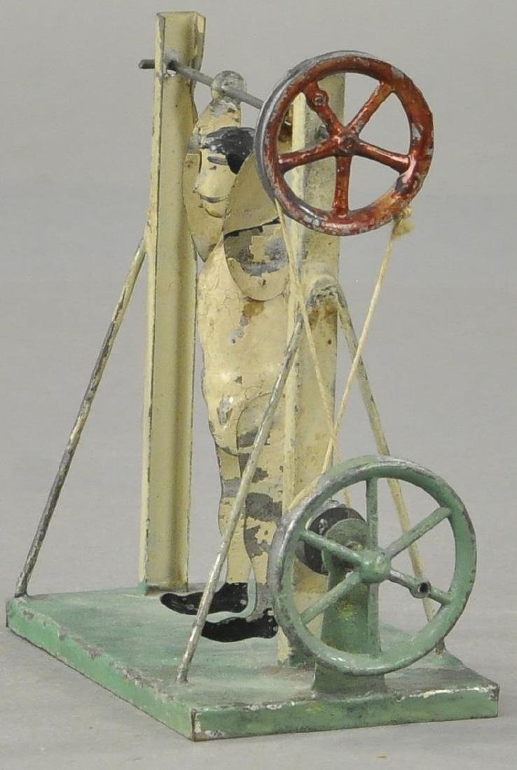 GERMAN TIN ACROBAT - FLYWHEEL/PULLEY - 2