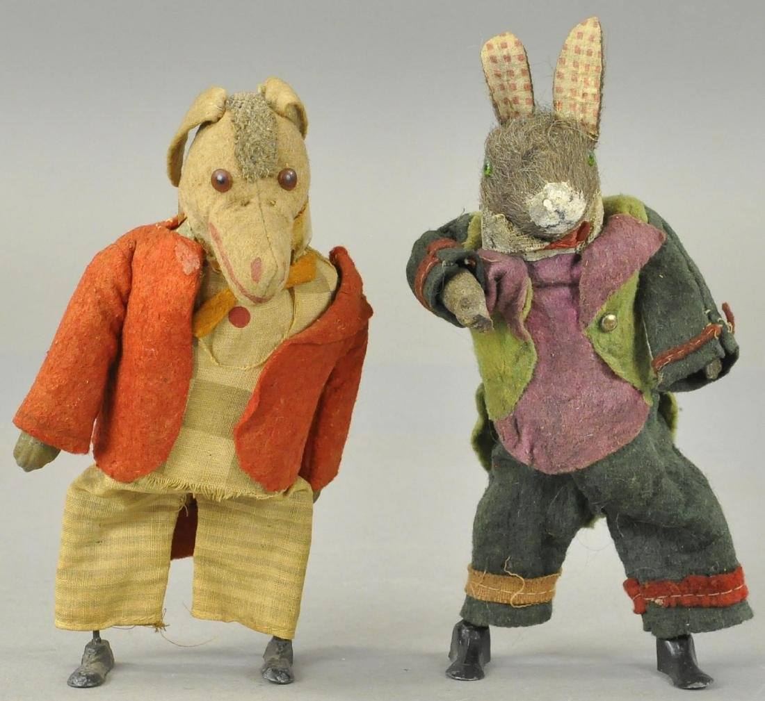 GERMAN COMPOSITION DONKEY & RABBIT