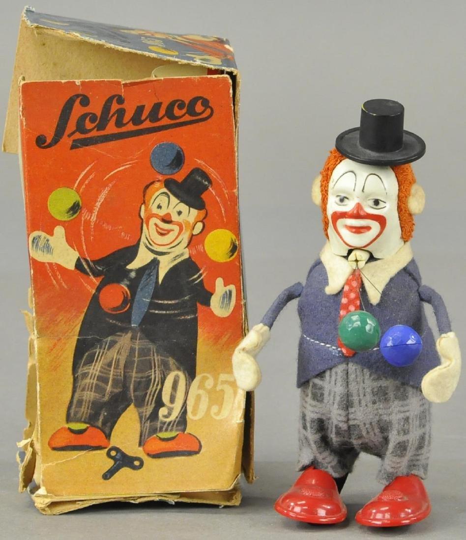 BOXED SCHUCO CLOWN JUGGLER