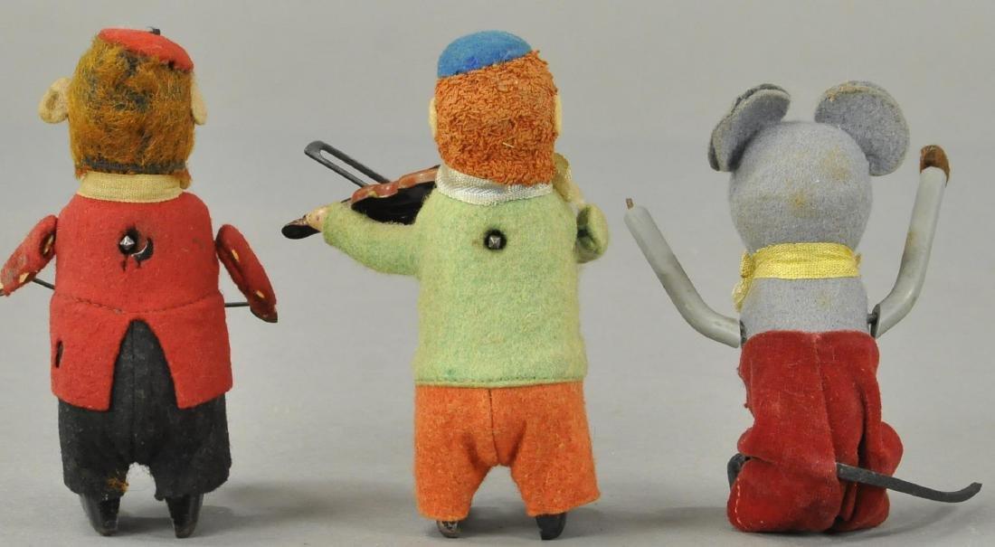 GROUP OF THREE SCHUCO FIGURES - 2