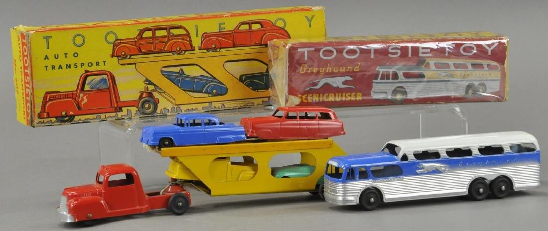 TWO BOXED TOOTSIETOY AUTOS
