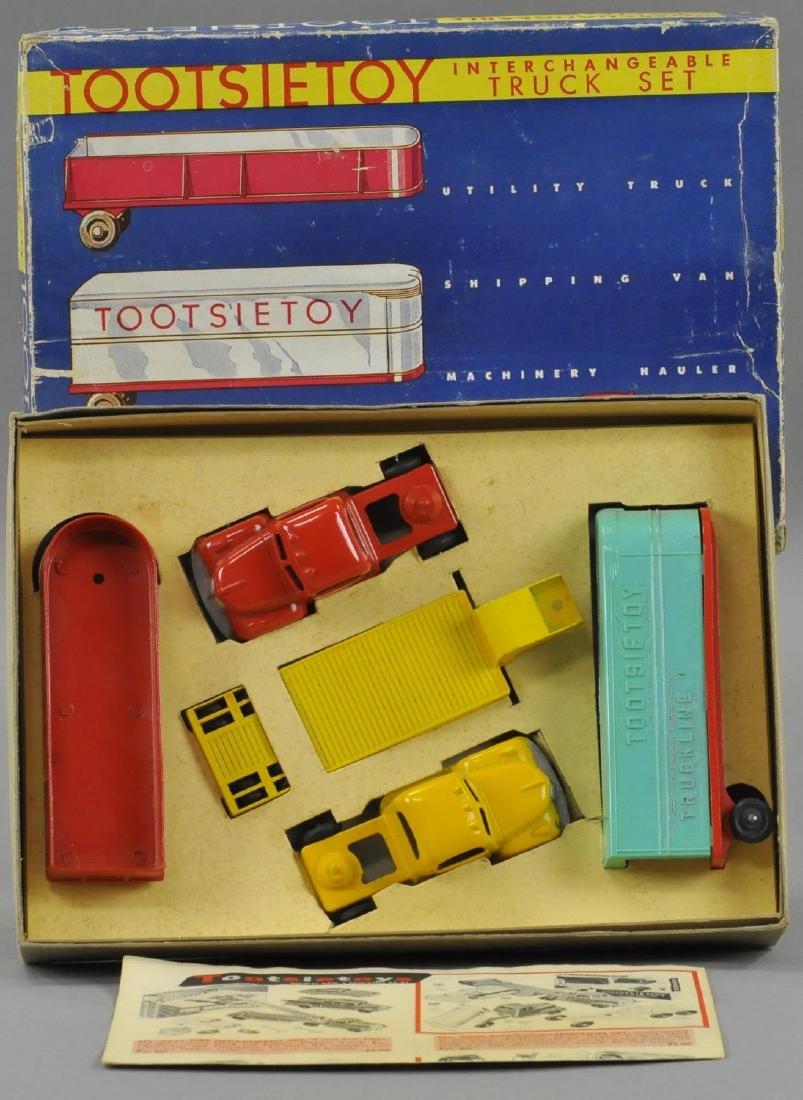 BOXED TOOTSIETOY INTERCHANGEABLE TRUCK SET - 3