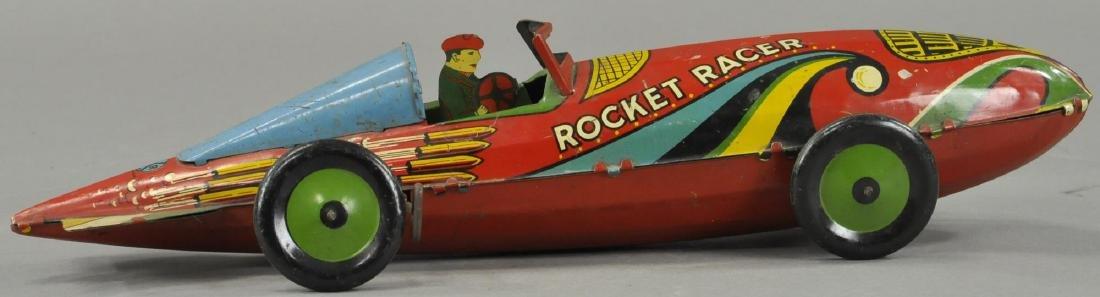 MARX WIND UP ROCKET RACER CAR - 2