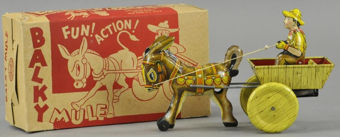 BOXED MARX BALKY MULE