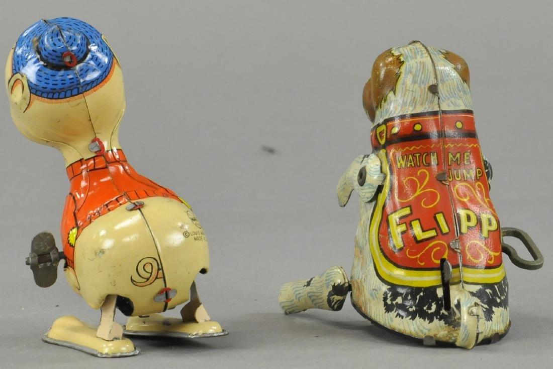 MARX PIGGY & BOXED FLIPPO DOG - 2