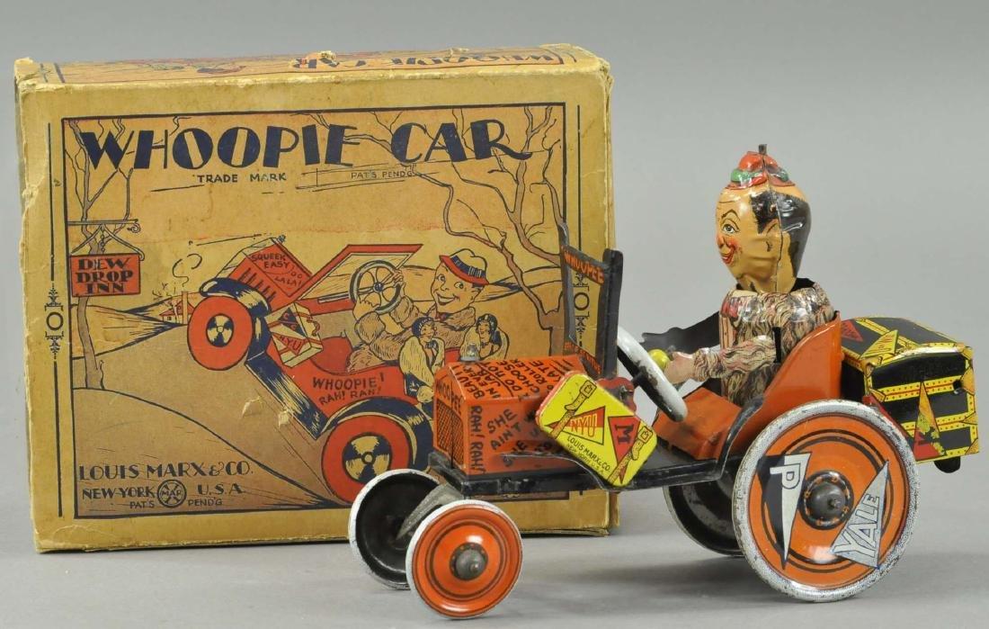 MARX WHOOPIE CRAZY CAR W/BOX