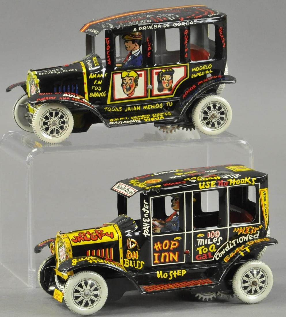 TWO OLD JALOPY AUTOS - SPANISH VERSION