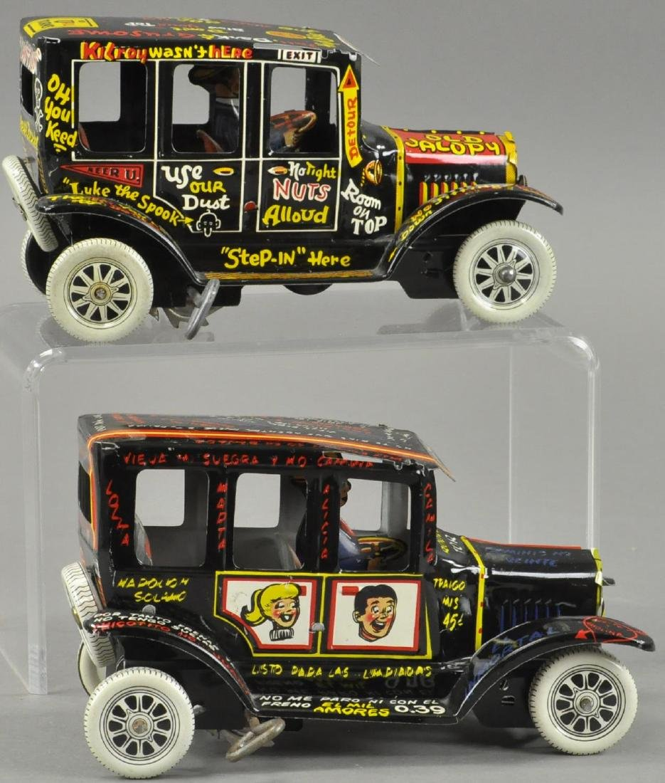 TWO OLD JALOPY AUTOS - SPANISH VERSION - 3