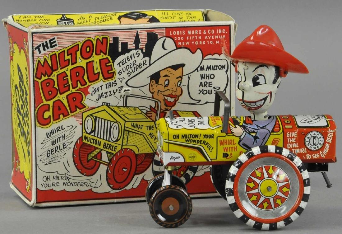 BOXED MARX MILTON BERLE COWBOY CAR