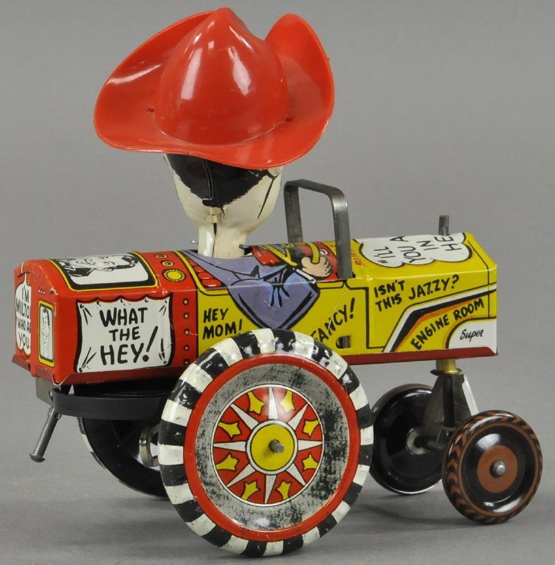 BOXED MARX MILTON BERLE COWBOY CAR - 2