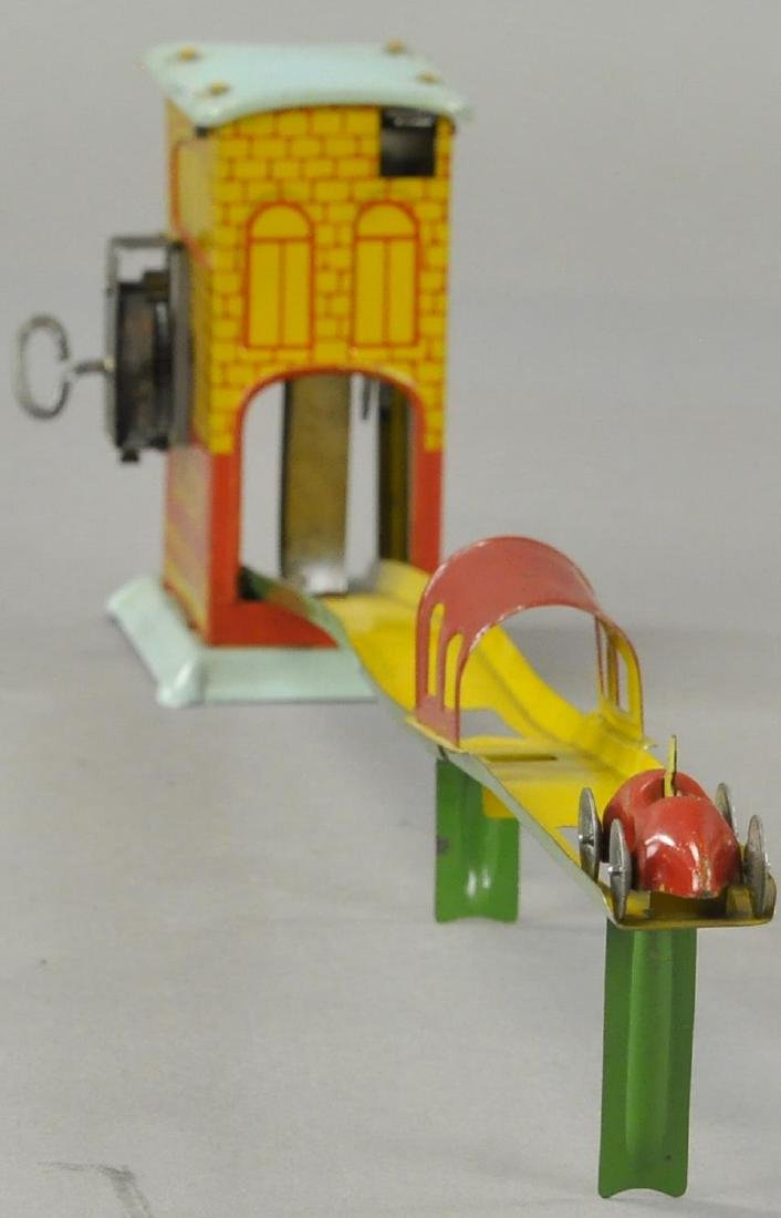 MARX BUSY PARKING STATION RAMP TOY - 2