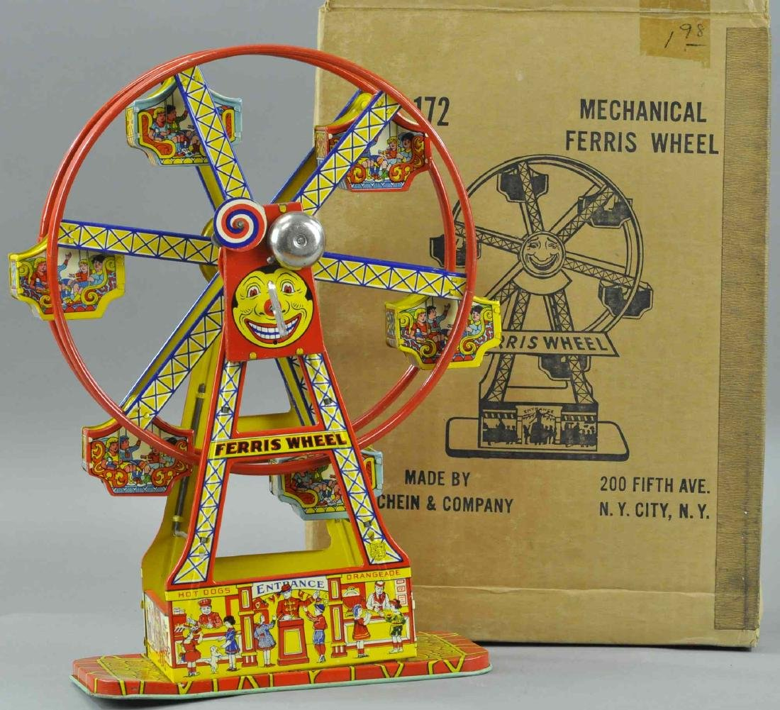 BOXED CHEIN FERRIES WHEEL
