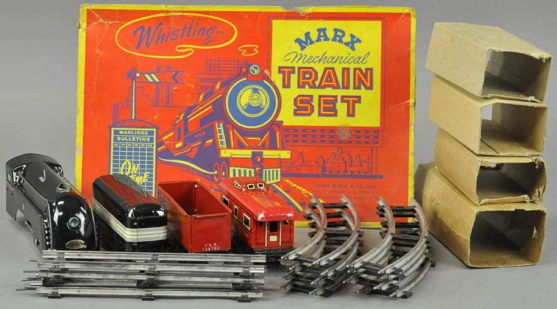 BOXED MARX MECHANICAL WIND UP STREAMLINE TRAIN