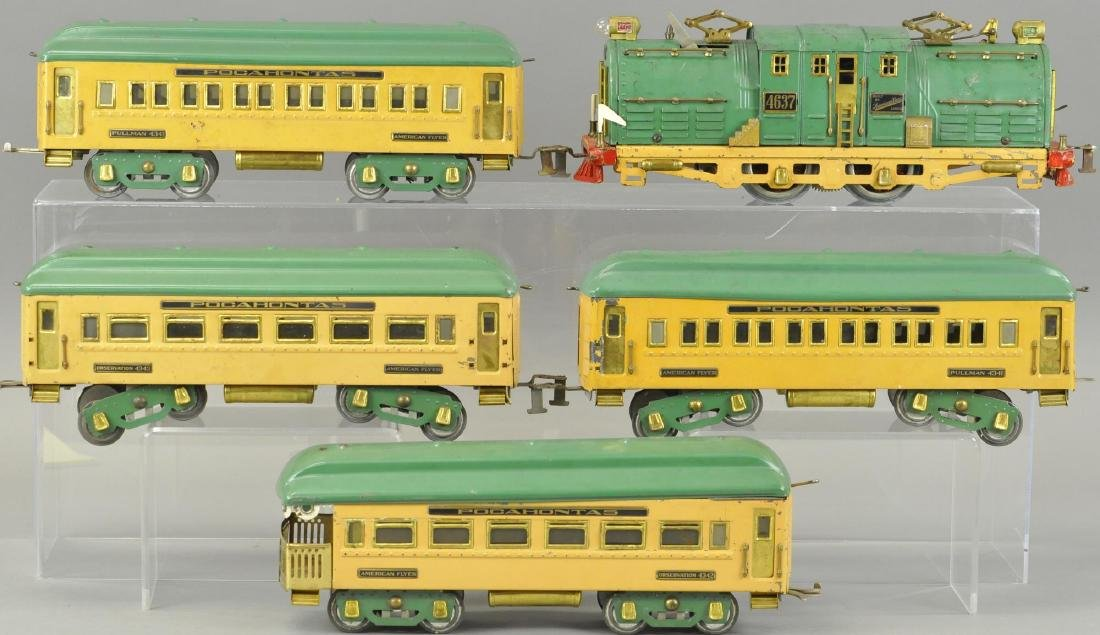 AMERICAN FLYER WIDE GAUGE POCAHONTAS SET - 2