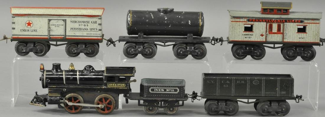 IVES STEAM FREIGHT SET