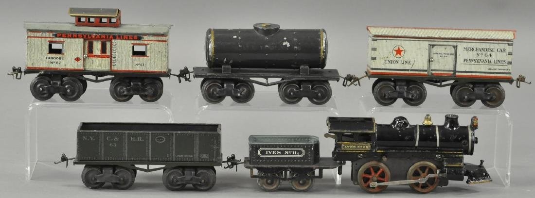IVES STEAM FREIGHT SET - 2