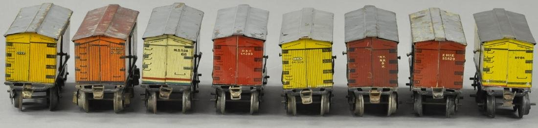 LOT OF EIGHT IVES BOX CARS - 3