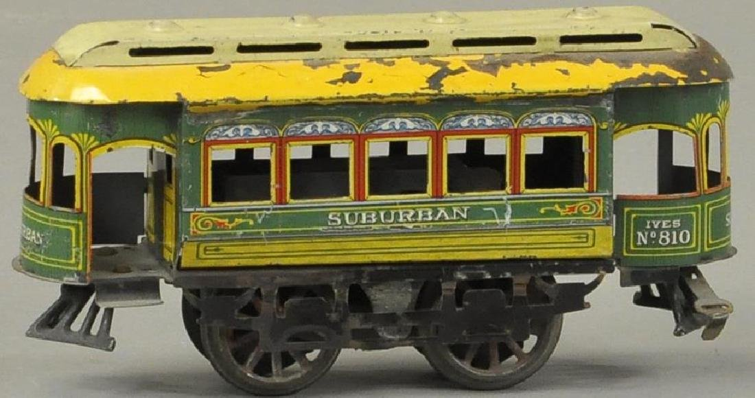 IVES #810 ELECTRIC SUBURBAN TROLLEY
