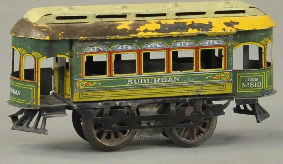IVES #810 ELECTRIC SUBURBAN TROLLEY - 2