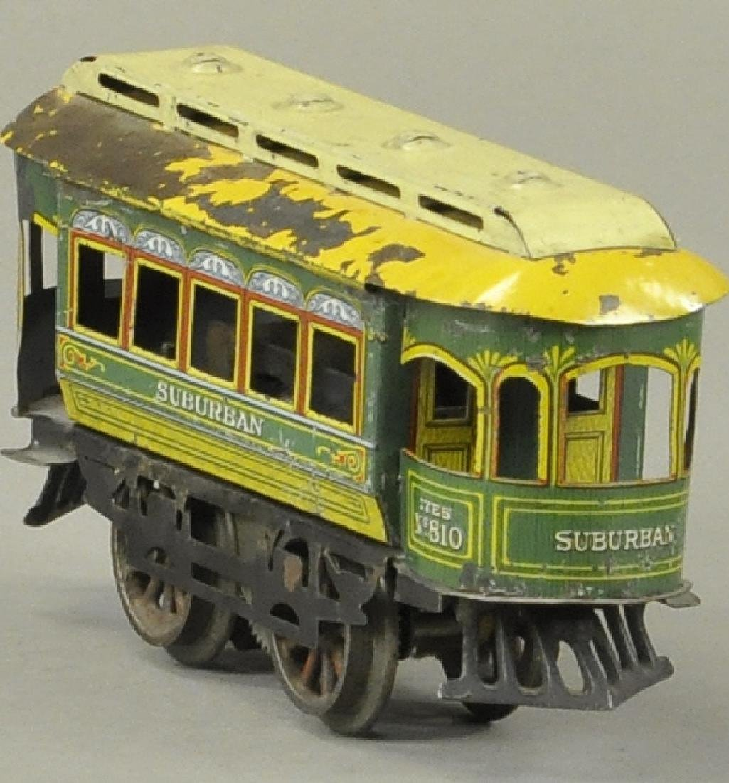 IVES #810 ELECTRIC SUBURBAN TROLLEY - 3
