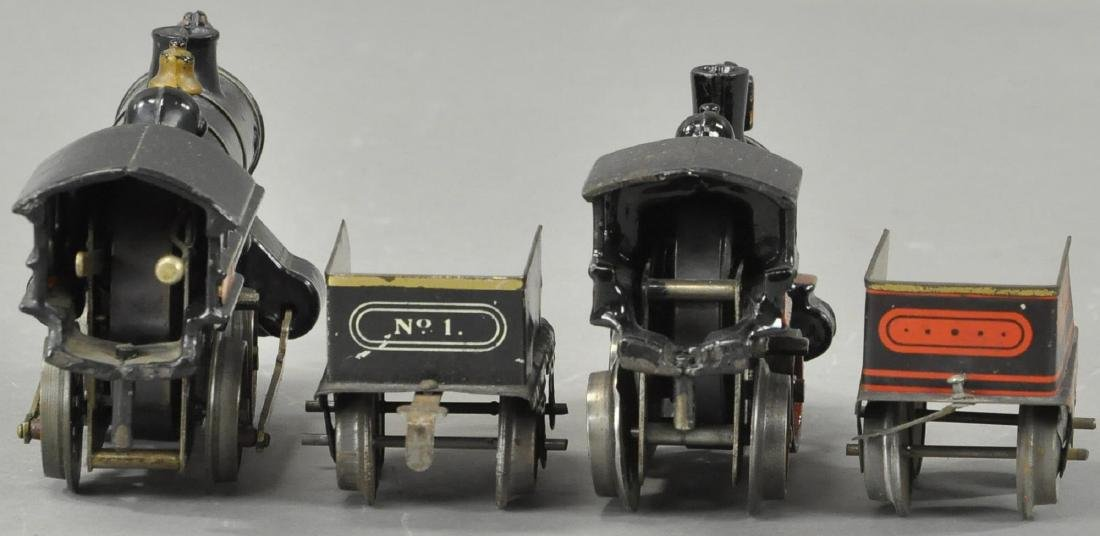 TWO EARLY CLOCKWORK IVES LOCOMOTIVES - 4
