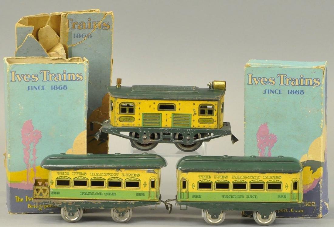 BOXED IVES O GAUGE #3258 LOCOMOTIVE SET
