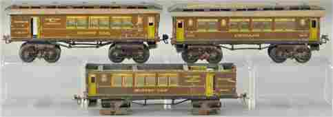 IVES 1 GAUGE PASSENGER CARS