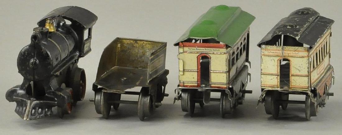 IVES #2 LOCO AND BROOKLYN/BUFFALO PASSENGER CARS - 3