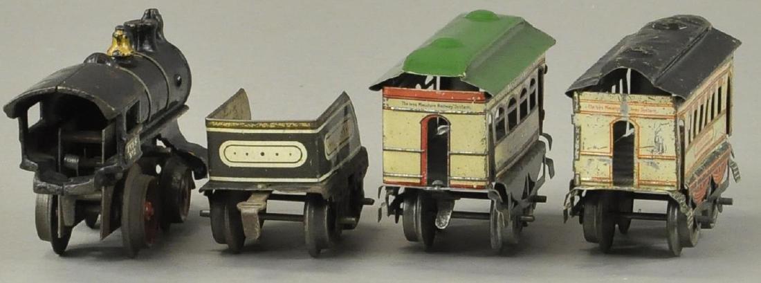 IVES #2 LOCO AND BROOKLYN/BUFFALO PASSENGER CARS - 4