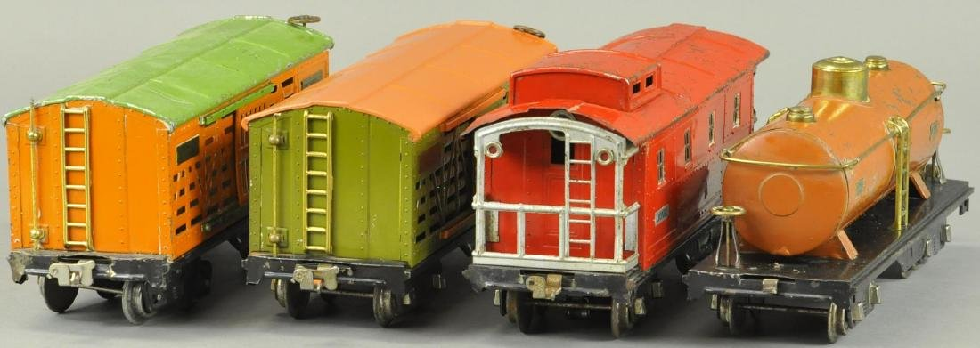 FOUR LIONEL STANDARD GAUGE FREIGHT CARS - 3