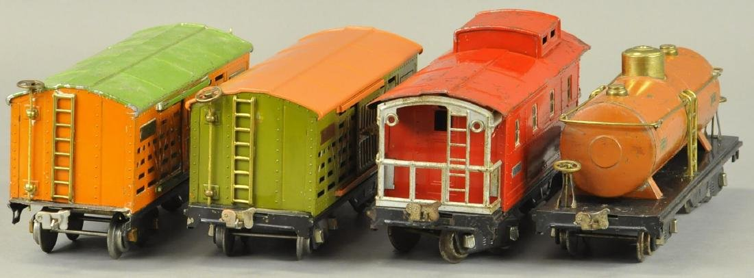 FOUR LIONEL STANDARD GAUGE FREIGHT CARS - 4