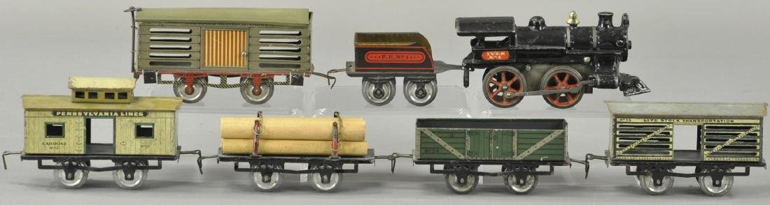 EARLY IVES NO. 1 FREIGHT SET