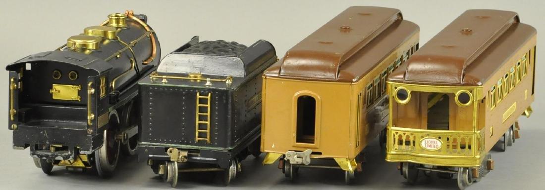 BOXED LIONEL STANDARD GAUGE #384 LOCO SET - 4