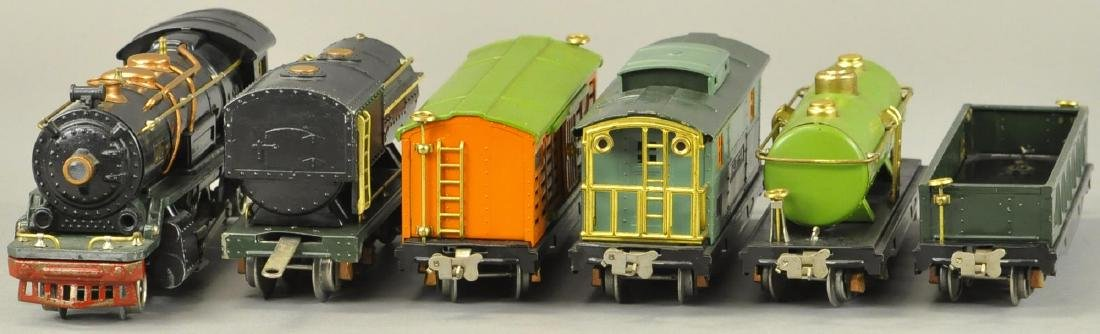 BOXED LIONEL O GAUGE #260E LOCO AND FREIGHT SET - 3
