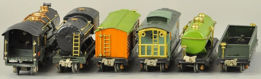 BOXED LIONEL O GAUGE #260E LOCO AND FREIGHT SET - 4