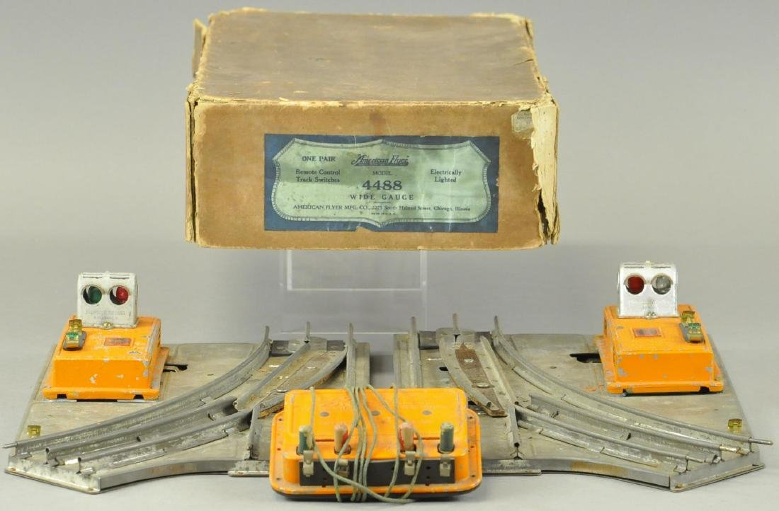 BOXED AMERICAN FLYER STANDARD GAUGE SWITCH TRACK