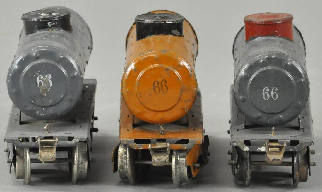 LOT OF THREE IVES TANK CARS - 3