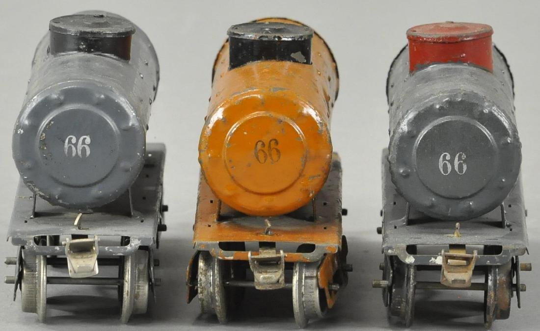 LOT OF THREE IVES TANK CARS - 4