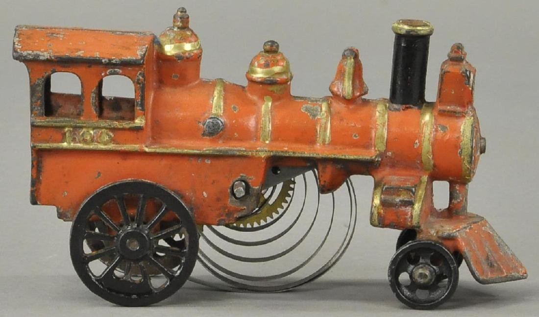 EARLY CLOCKWORK KENTON FLOOR LOCOMOTIVE